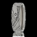 Schmaler Schatzkarten-Ring in Weissgold aus der Kollektion Schatzkarte vom Atelier OBSESSION in Wetzikon und Zürich