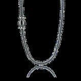 Breites Fuchsschwanz Collier in Silber aus der Gremlin Männerschmuck Kollektion der Goldschmiede OBSESSION