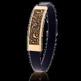Schatzkarten-Armband in Rotgold mit schwarzem Diamant von der Goldschmiede OBSESSION in Wetzikon und Zürich