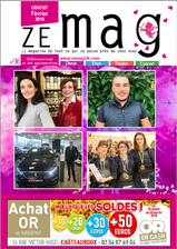ZE mag 36 chateauroux n°36 février 2018