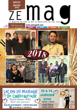 ZE mag 36 chateauroux n°35 janvier 2018
