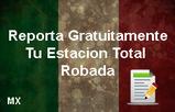 reporte de estación total robada en México