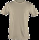 Strichpunkt T-Shirts,  alle Farben, Sand/Beige