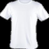 Strichpunkt T-Shirts,  alle Farben, Weiss
