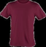 Strichpunkt T-Shirts,  alle Farben, Weinrot