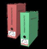 Arbeitsschutz Ordner für Checklisten, Ausfüllhilfen und Musterformulare für Betriebe der BG.