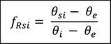 Wärmebrückenberechnung Temperaturfaktor frsi Formel & Formelzeichen