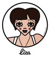 ICONS ICONES TRIBUTE LIZA MINNELLI ILLUSTRATION ART PRINT POSTER TOTE BAGS MUGS BADGES © Stephanie Gerlier / T FOR TIGER
