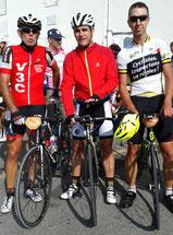 Avec Dom' et Laurent au sommet.