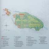 Foto zeigt Übersichtsplan Hofgarten