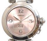 カルティエ パシャC ビッグデイト ボーイズ 自動巻き 腕時計