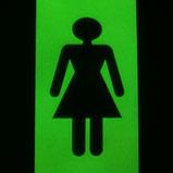 Leuchtschild Schild nachleuchtend