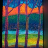 leuchtendes bild mit nachtleucht textilmalfarbe