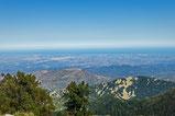Plaine du Roussillon depuis les Cortalets Canigou