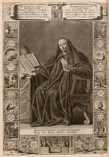 Gravure de 1690 de Zacharie Heince (dessin) et François Bignon (gravure)