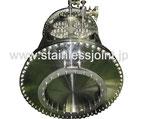 ステンレス製ヘリウム容器