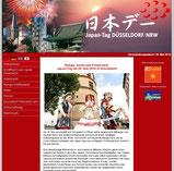 Japantag in Düsseldorf Webseite
