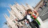 fotografo matrimonio duomo milano