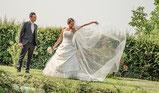 fotografo matrimonio Villa Chimera