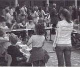 Zeitungsartikel über Melanie Ohme und Schachfreunde Friedberg