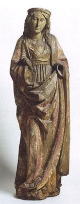 Heilige Barbara, um 1480. Foto: Helmut Bauer/Domschatz- und Diözesanmuseum Eichstätt