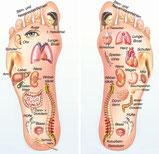 Fußreflexzonen