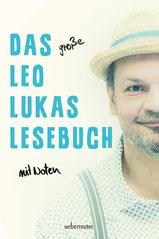 Auf dem Cover sieht man Leo Lukas zur Hälfte mit Hut.