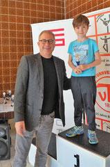 Luca mit  Joachim Kolbe (Leiter BaHaMa GmbH)