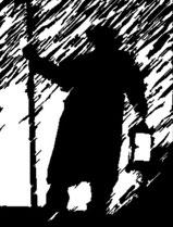 Nachtwächter Leipzig mit Leipziger Stadtdetektiven und kriminalistischem Ehrgeiz knifflige Rätselfragen lösen Taschenlampen an dunkle Orte