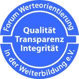 Siegel Forum Werteorientierung - Weiterbildung e.V. - Yvonne Devant - COACHING & CONSULTING