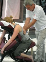 Massage bei Event