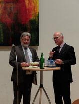 v. l.: Anton Rütten, Ulrich Richter