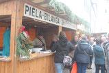 Weihnachtsmarkt Ochsenhausen - Glühweinstand