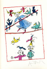 Quentin Blake Tightrope children