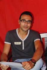 Majd Shuqer (20), aus Syrien