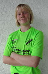 Platz 2 der Torschützenliste: Leticia Pfaff. Foto: Pfaff