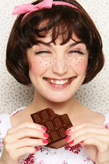 шоколад, счастье, радость