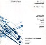 Galerie Fakt Wiesbaden: Zeitspuren