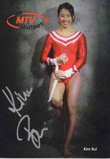 Kim Bui Autogrammkarte 2015, Sport, Präsentation