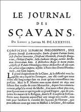 Pierre RÉGIS (1632-1707) : Compte-rendu de lecture du Confucius sinarum philosophus Journal des Sçavans, 5 janvier 1688, pages 99-107.