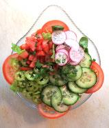 frische salat , immer frisch auf den Tisch