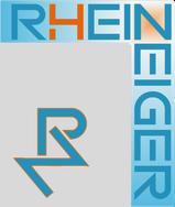 Logo des RheinZeigers mit Sonne und Favicon