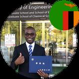 Dr. Mwandira Wilson PhD Japan Alumni from Zambia