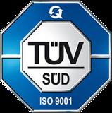 Zertifiziert durch den TÜV Süd