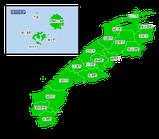 ポスティング島根(山陰中国)配布部数表