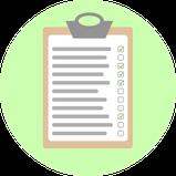 Checkliste, Prüfplan