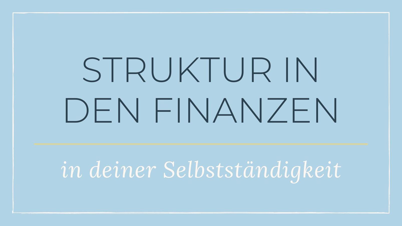 So kannst du Struktur in deine Finanzen bringen