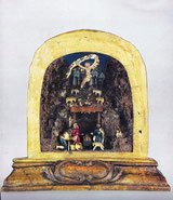 Kleine barocke Krippe  18. Jh.