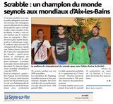 Championnat du Monde 2014 : Aix les Bains