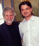 Mit dem Stones- und Clapton-Produzent Chuck Leavell